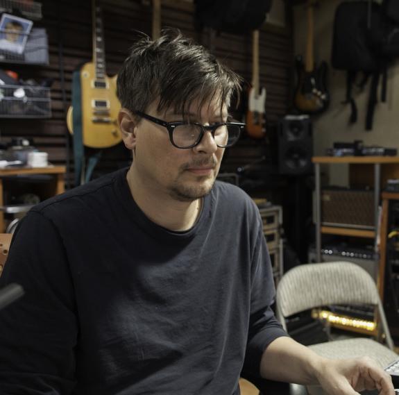 Ken Andrews working at Red Swan Studios tb2