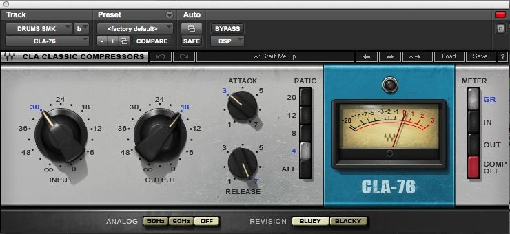 Still Into You drums CLA compressor2