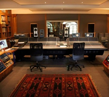 La Fabrique control room