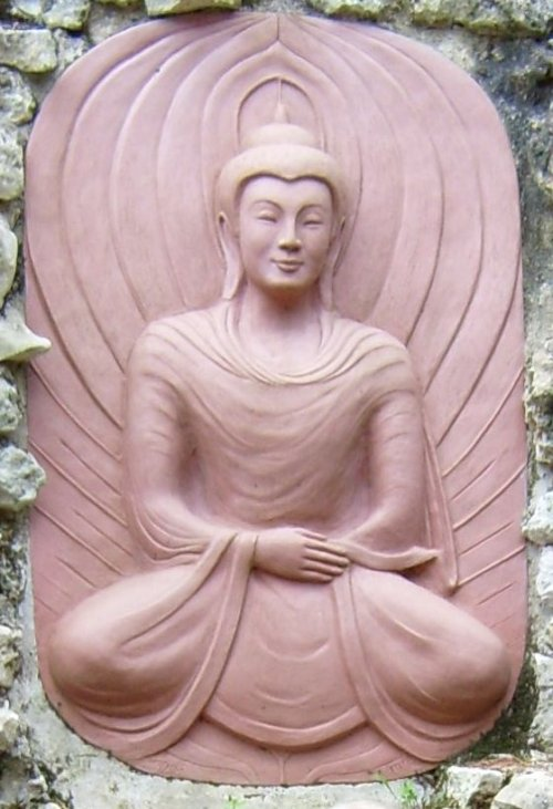 Statue of the Buddha in Plum Village, France
