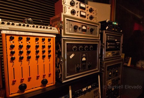 Some of the Elevado's outboard used in the making of Black Messiah