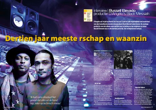 The first two pages of the article in Interface