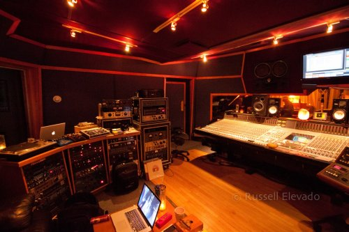MSR Studios 1, New York, where most of the work on Black Messiah was done