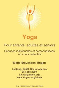 Yoga card French