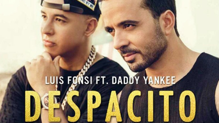 One of many publicity shots of Louis Fonsi and Daddy Yankee for Despacito