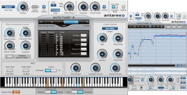 Antares' AutoTune plugin, indispensable and ubiquitous on modern pop records